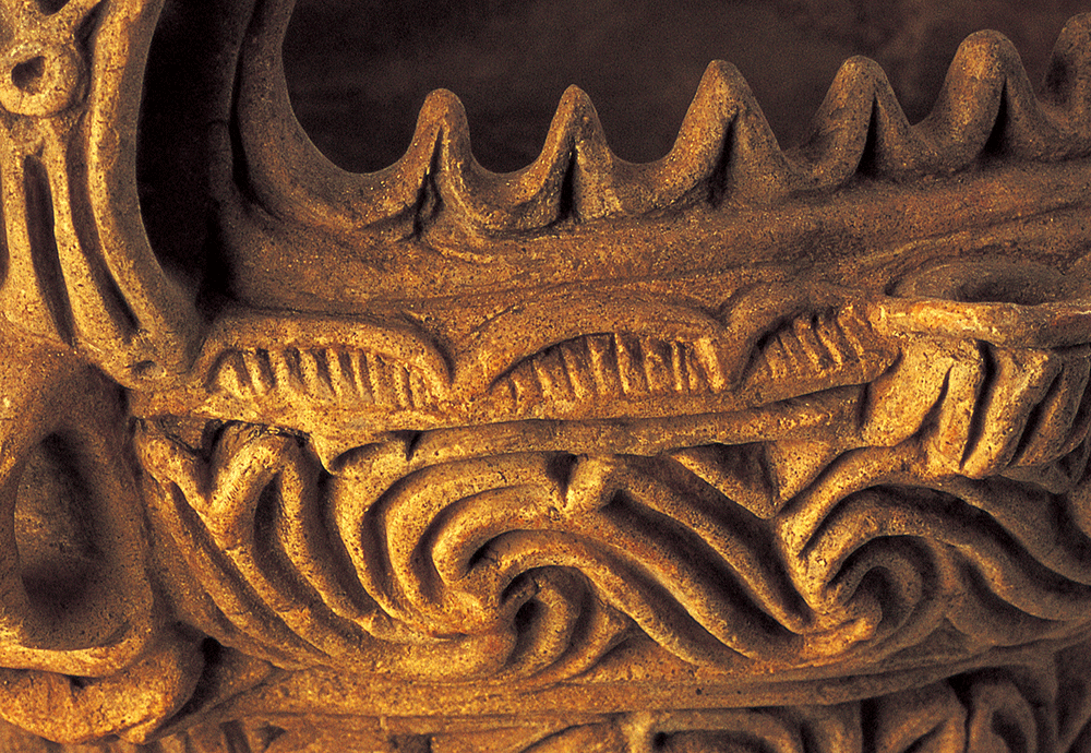 縄文土器の文様。縄文土器はまた、日本列島最初の「うつわ」でもあった。